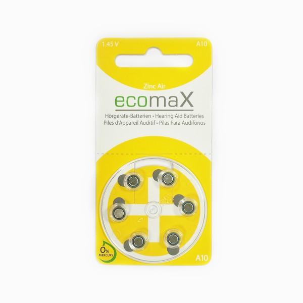 Basic Hörgerätebatterien Ecomax Größe 10