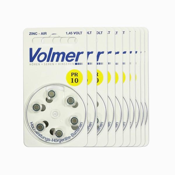 Premium Hörgerätebatterien Volmer Größe 10